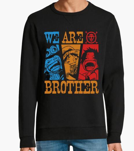 Jersey somos hermanos - una pieza de anime