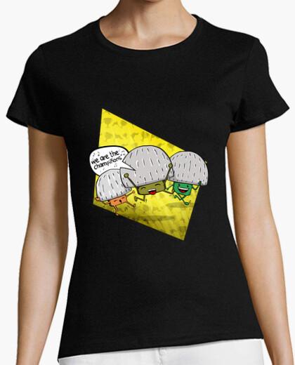 Camiseta somos los champiñones divertidos setas