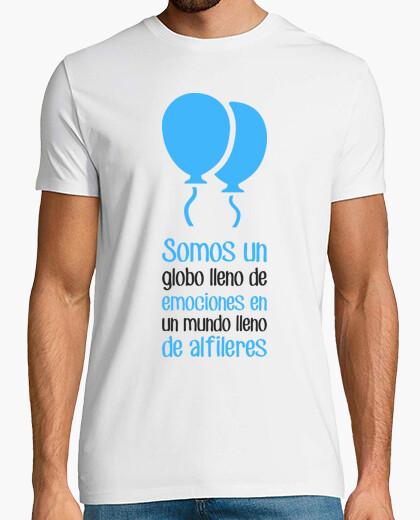 Tee-shirt Somos un globo lleno de emociones
