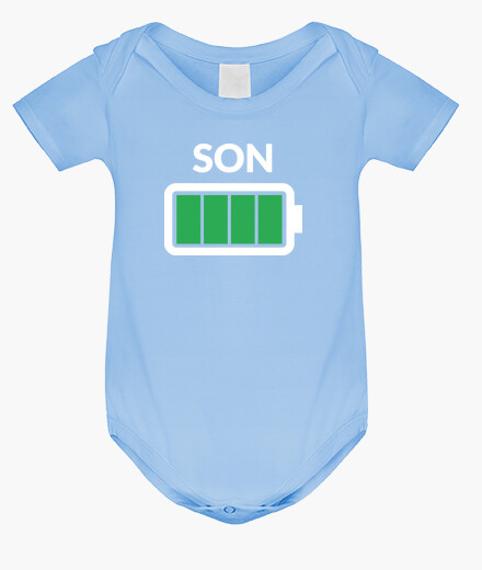 Son full battery children's clothes