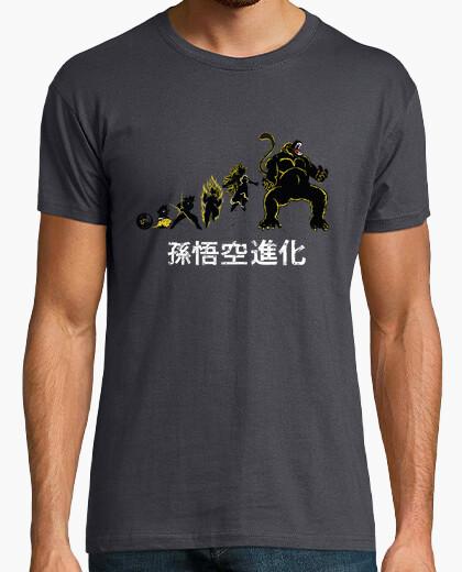 Camiseta Son Goku Evolution ( Versión con Ozaru)