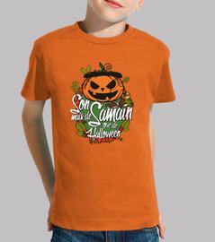 Son mais de Samaín que de Halloween - Nen@s