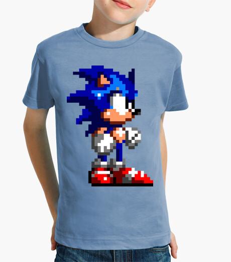 Ropa infantil Sonic 16bit (Camiseta Niño)