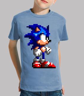 Sonic 16bit (Camiseta Niño)