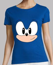 Sonic clásico rostro (chica)