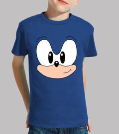 Sonic clásico rostro (infantil)