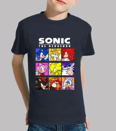 Sonic Grupo (Camiseta infantil)