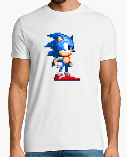 Tee-shirt Sonic pixel rétro