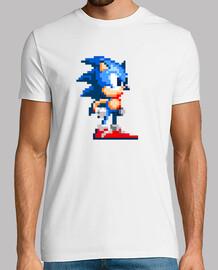 Sonic pixel rétro