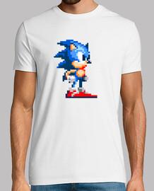 Sonic retro pixel