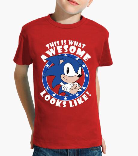 Ropa infantil Sonic the Hedgehog Looks Like! (Infantil)