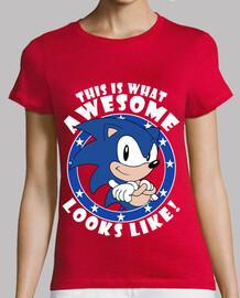 Sonic the Hedgehog Looks Like! (Mujer)