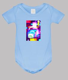 SONIKUS  Arte Abstracto Body bebé