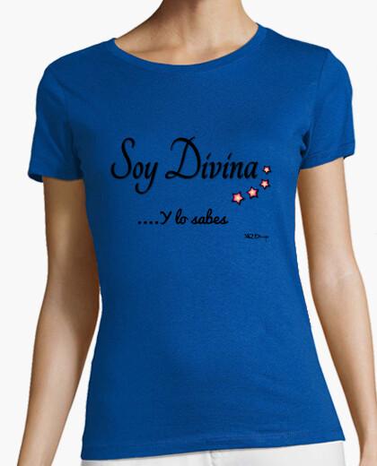 T-shirt sono dio ... e sai le donne