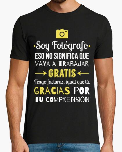 T-shirt sono fotografo