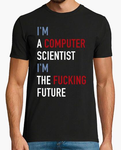 T-shirt Sono il futuro (informatico)