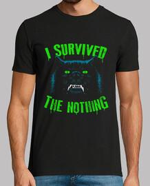 sono sopravvissuto al nulla / all'infinito / mens