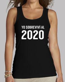 sono sopravvissuto t-shirt donna palestra t-shirt donna 2020