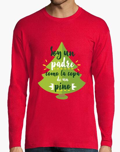 T-shirt sono un padre come la cima di un pino