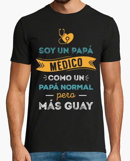 T-shirt sono un papà medico, come un papà normale, ma più cool