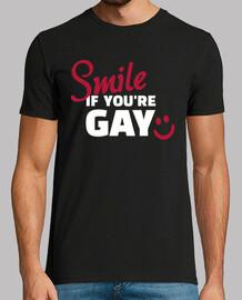 sonríe si eres gay