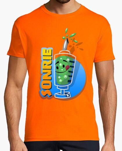 Camiseta Sonrie Vacuna para la tristeza