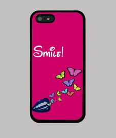 sonrisa mariposas