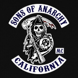 Camisetas Sons Of Anarchy - Logo