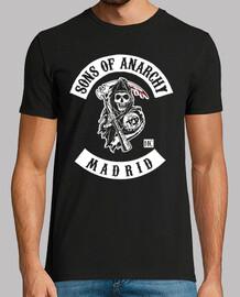 Sons of Anarchy - Madrid - Estampado frontal