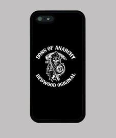 Sons of anarchy logo blanco