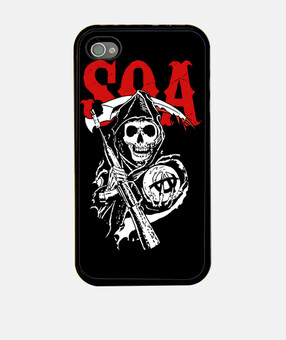 Sons of Anarchy - Parca - SOA - Rojo
