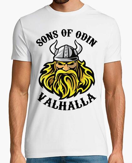 Camiseta sons of odin