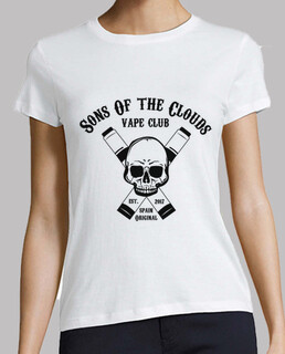 Sons Of The Clouds Camiseta Blanca Mujer