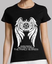 soprannaturale - illuminano ver. - donna t-shirt