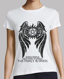 soprannaturale - ver scuro. - donna t-shirt