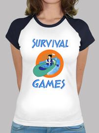 sopravvivenza games ragazza
