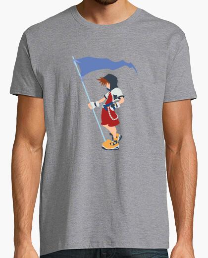 Camiseta Sora Kingdom Hearts (bandera)