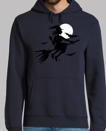 sorcière - chauves-souris