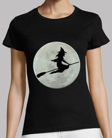 sorcière et lune