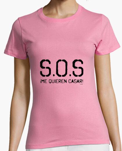 Tee-shirt Sos-shirt pour les mariées veulent me marier!