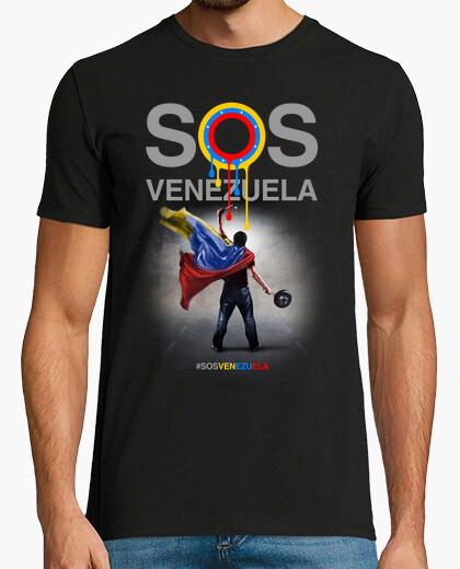 Tee-shirt sos venezuela (conception b)