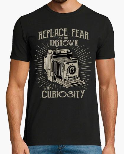 T-shirt sostituire la paura