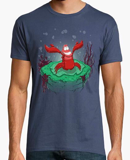 T-shirt sotto il mare