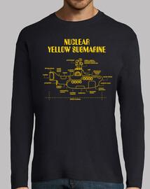 sottomarino nucleare giallo