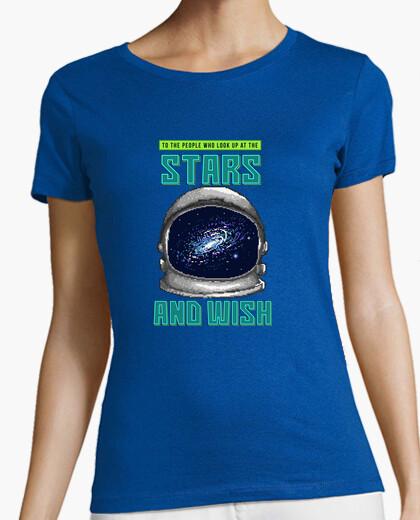 Tee-shirt souhait des étoiles