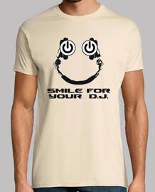 sourire pour votre dj