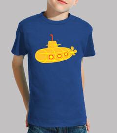 sous-marin jaune