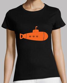 sous-marin orange