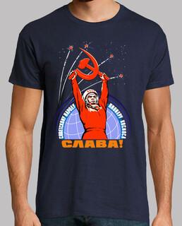 Soviet propaganda. Yuri Gagarin