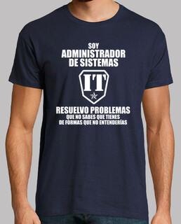 Soy Administrador de Sistemas (Hombre, esp.)